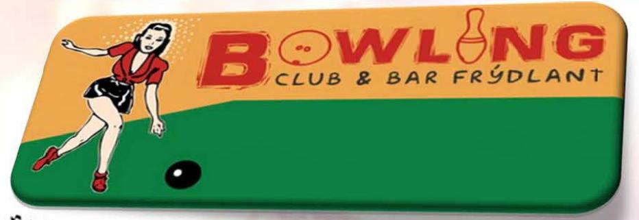 logo firmy BOWLING CLUB & BAR FRÝDLANT