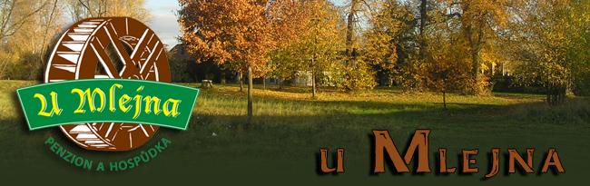 logo firmy  PENZION A HOSPÙDKA U MLEJNA-HRADEC KRÁLOVÉ