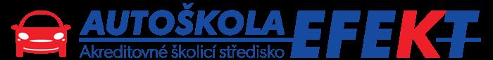 logo firmy AKREDITOVANÉ ŠKOLÍCÍ STŘEDISKO AUTOŠKOLA EFEKT s.r.o.