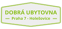 logo firmy DOBRÁ UBYTOVNA