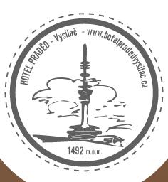 logo firmy Hotel Praděd – vysílač