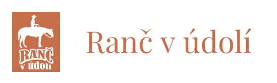 logo firmy RANČ V ÚDOLÍ