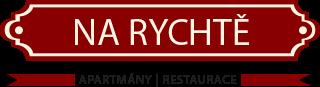 logo firmy NA RYCHTĚ - UBYTOVÁNÍ A RESTAURACE LÁZNĚ-LIPOVÁ