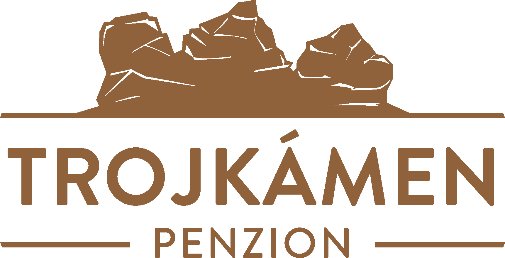 logo firmy Penzion Trojkámen