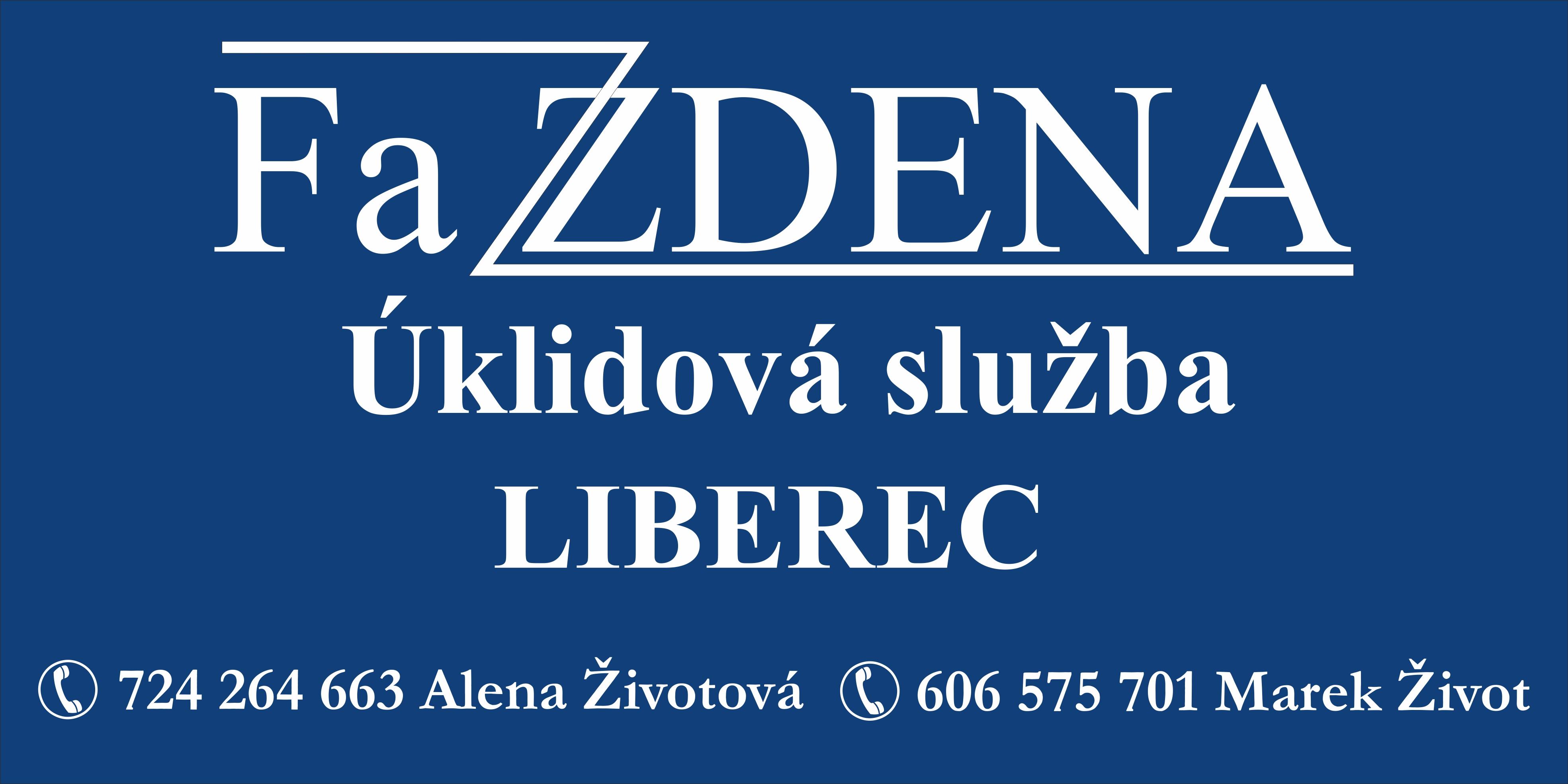 logo firmy FaZDENA