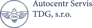 logo firmy Autocentr servis TDG, s.r.o.