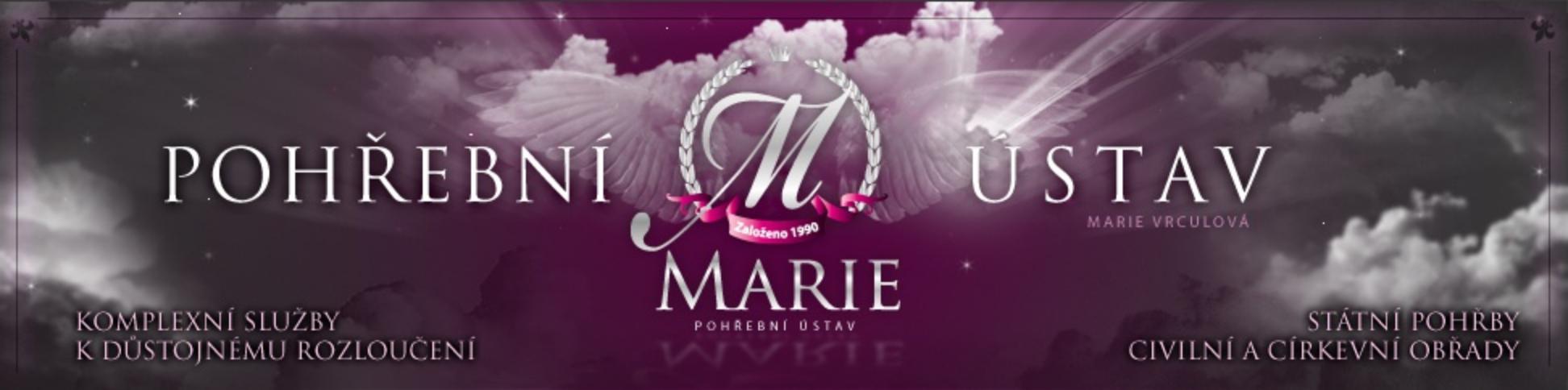 logo firmy POHŘEBNÍ SLUŽBA MARIE