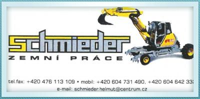 logo firmy ZEMNÍ PRÁCE SCHMIEDER