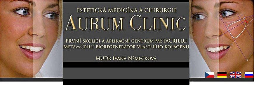 logo firmy Aurum Clinic s.r.o.