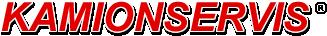 logo firmy KAMIONSERVIS PRAHA , a.s.