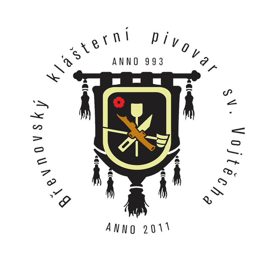 logo firmy Bøevnovský klášterní pivovar svatého Vojtìcha a.s.