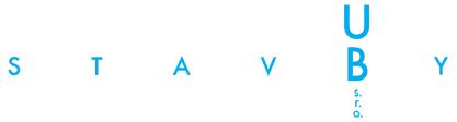 logo firmy STAVBY UB s.r.o.