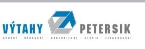 logo firmy  VÝTAHY PETERSÍK