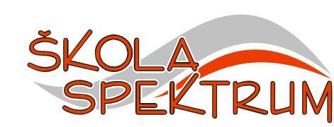 logo firmy Støední škola ekonomicko-podnikatelská SPEKTRUM, s.r.o. Mladá Boleslav