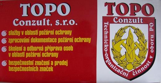 logo firmy TOPO CONZULT