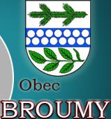 logo firmy OBEC Broumy