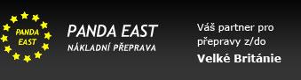 logo firmy PANDA EAST spol. s r.o. - nákladní přeprava