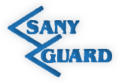 logo firmy SANY GUARD s.r.o.