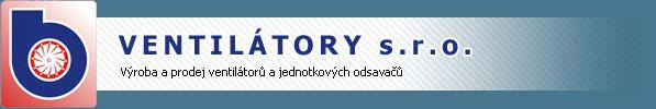 logo firmy VENTILÁTORY, s.r.o.