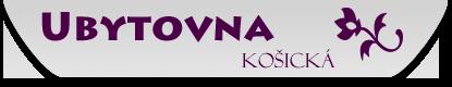 logo firmy UBYTOVNA Košická s.r.o.