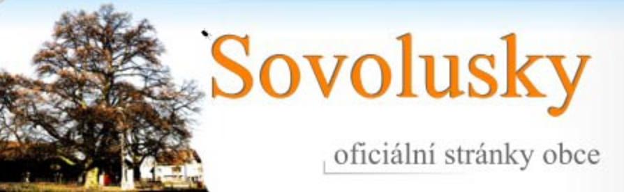 logo firmy OBEC Sovolusky