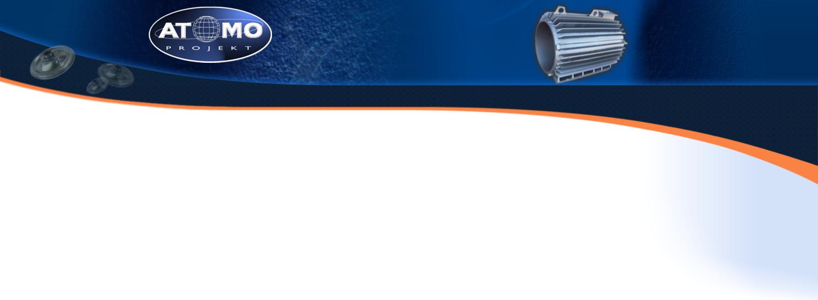 logo firmy ATOMO PROJEKT