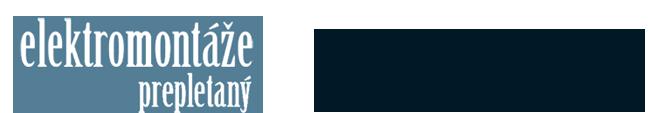 logo firmy Elektromontáže Prepletaný