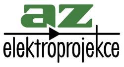 logo firmy AZ Elektroprojekce s.r.o. Měření a regulace Praha