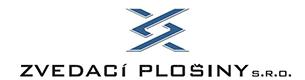 logo firmy ZVEDACÍ PLOŠINY