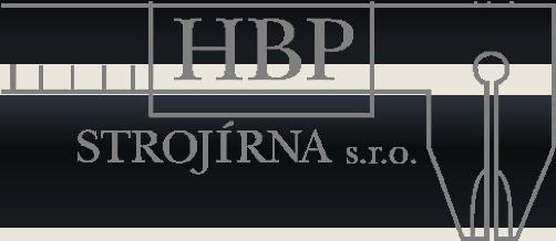 logo firmy HBP STROJÍRNA