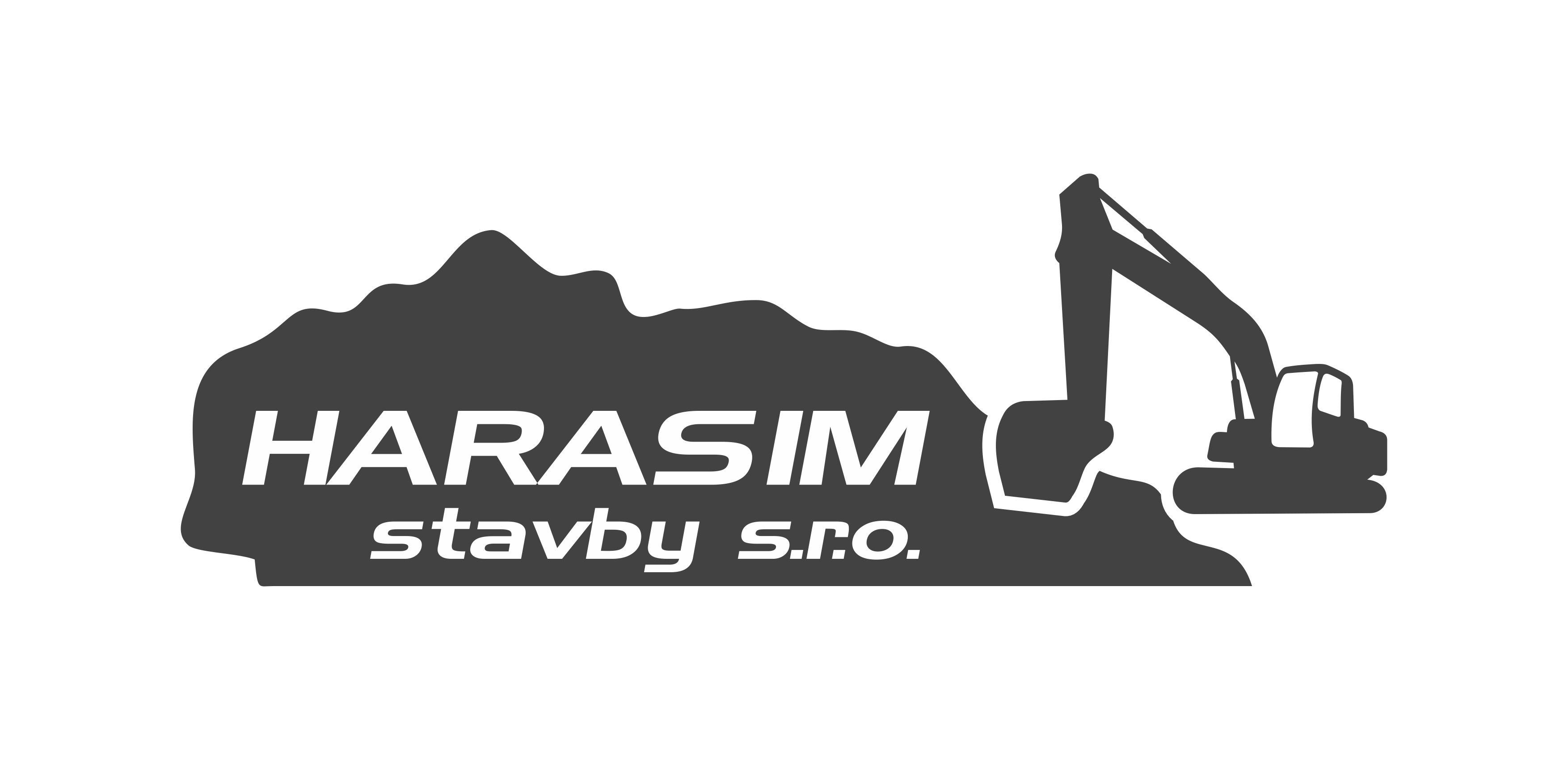 logo firmy HARASIM stavby s.r.o.