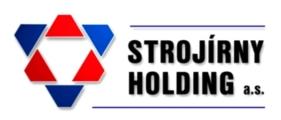 logo firmy STROJÍRNY HOLDING a.s.