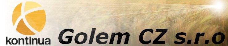 logo firmy GOLEM CZ, s.r.o.