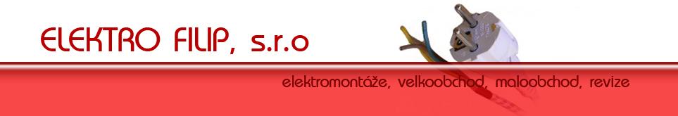 logo firmy ELEKTRO FILIP, s.r.o.