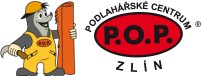 logo firmy P.O.P. Podlahářské centrum, s.r.o.