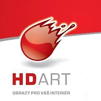 logo firmy Rámování HD ART