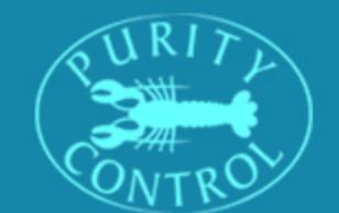 logo firmy PURITY CONTROL
