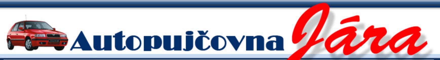 logo firmy Autopujčovna Jára
