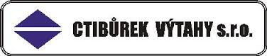 logo firmy CTIBÙREK VÝTAHY s.r.o.