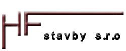logo firmy HF stavby s.r.o.