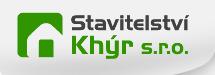 logo firmy STAVITELSTVÍ KHÝR