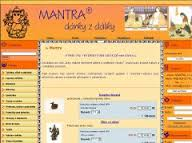 logo firmy MANTRA, s.r.o.