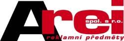 logo firmy Arei reklamní pøedmìty s.r.o. Prezentaèní a propagaèní produkty Praha