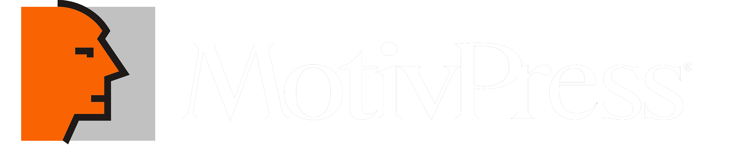 logo firmy MOTIV PRESS
