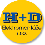 logo firmy H+D Elektromontáže s.r.o.