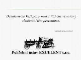 logo firmy Pohøební ústav EXCELENT s.r.o. Pohøební služba Sokolov