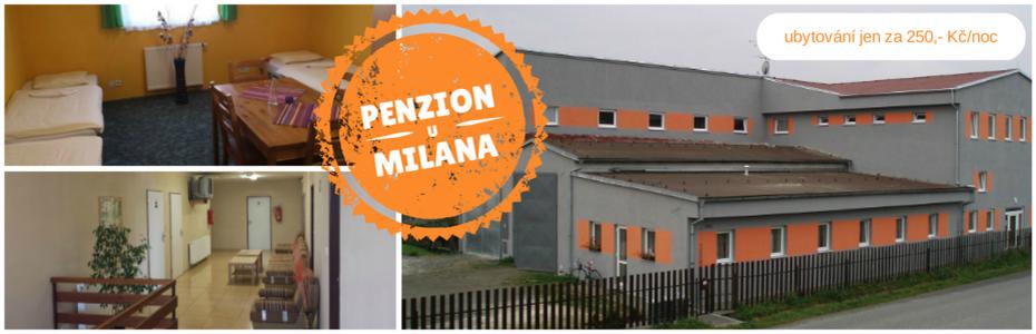 logo firmy Penzion u Milana