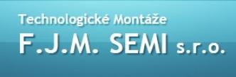 logo firmy TECHNOLOGICKÉ MONTÁŽE F.J.M. SEMI, s.r.o.