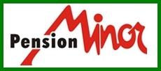 logo firmy Penzion Minor ubytování České Budějovice