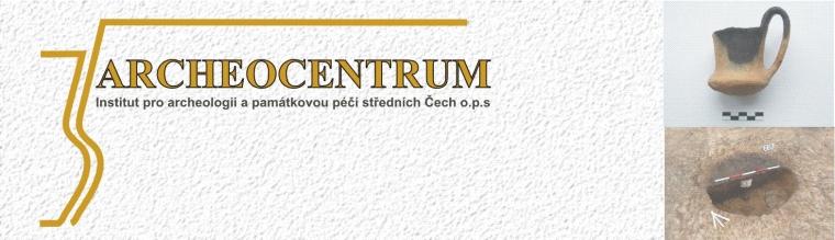 logo firmy ARCHEOCENTRUM  - Institut pro archeologii a památkovou péèi støedních Èech o.p.s.